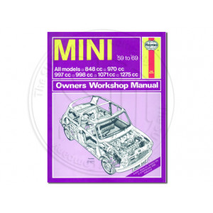 Haynes Manual, Mini 1959 - 69
