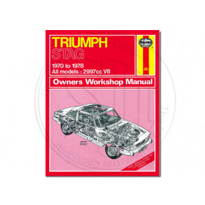 Haynes Manual, Triumph Stag 1970 - 78
